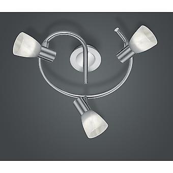 Trio Lighting Levisto Modern Nickel Matt Metal Spot