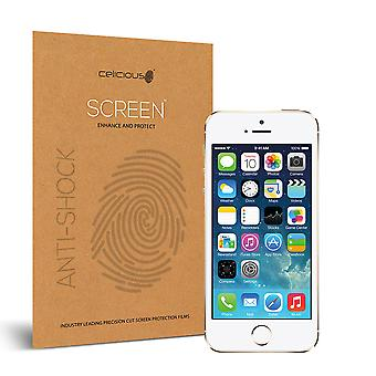 Celicious Auswirkungen Anti-Shock bruchsicher Screen Protector Film kompatibel mit Apple iPhone 5 s