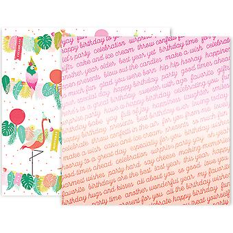 Confetti Wishes Double-Sided Cardstock 12