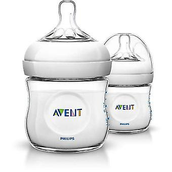Avent Set 2 Natural Milk Bottles (Childhood , Mealtime , Baby Bottles and Bottle Teats )