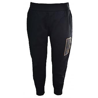 EA7 Boys EA7 Kids Black Jogging Bottoms