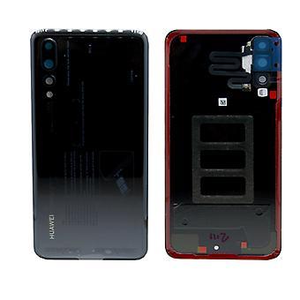 Huawei batteri luckan batteri omslaget batteriluckan svart för P20 Pro / dubbla / 02351WRR reparation nya