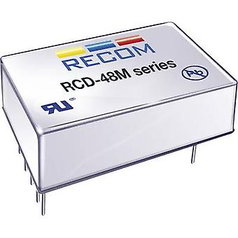 LED controller 1200 mA 56 Vdc Analog dimming, PWM dimming Recom Lighting RCD-48-1.20/M Max. operating voltage: 60 Vdc