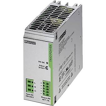 Phoenix Contact TRIO-PS/1AC/48DC/5 Rail mounted PSU (DIN) 48 Vdc 5 A 240 W 1 x