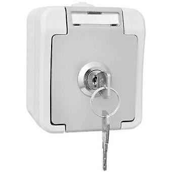 Peranova PG socket (lockable) Pera Light grey, Dark grey