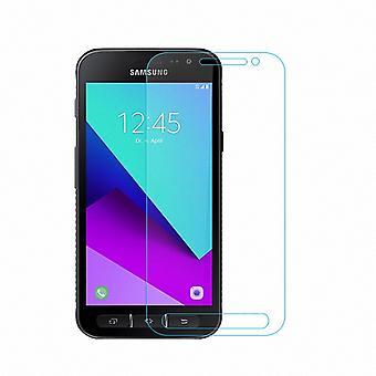 Samsung Galaxy Xcover 4 Displayschutzfolie 9H Verbundglas Panzer Schutz Glas Tempered Glas