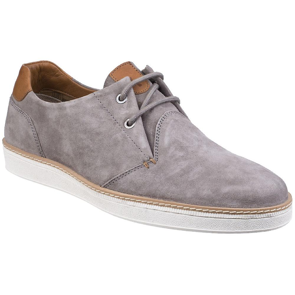 Gabicci Mens Curtis Bellows Tongue Derby Suede Lace Up chaussures
