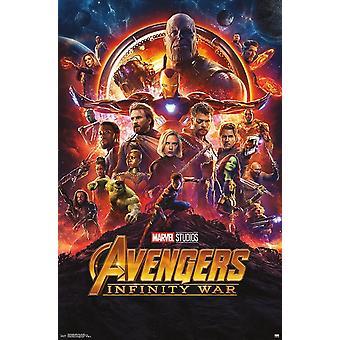 Avengers Infinity War - One Sheet Poster Print