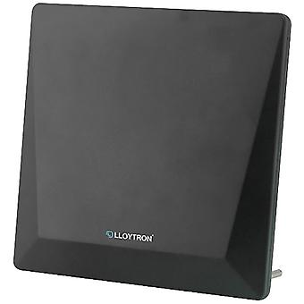 Lloytron A3103BK Digital Active Indoor Panel 4G Filter TV Antenna - 50db