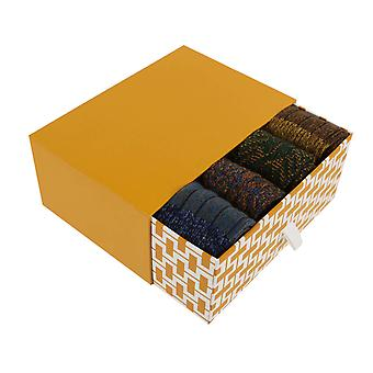 Dales Gift Box | 4 pairs of men's warm wool boot socks by Scott-Nichol