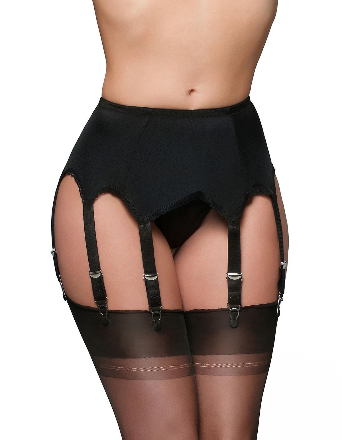 Nylon Dreams NDL3 Women's Garter Belt 8 Strap Suspender Belt