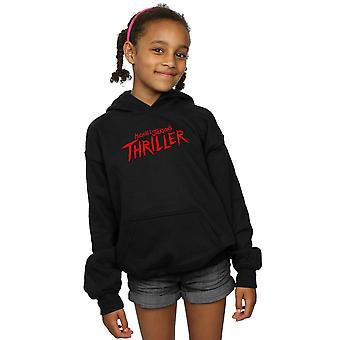 Michael Jackson Girls Thriller Logo Bluza z kapturem