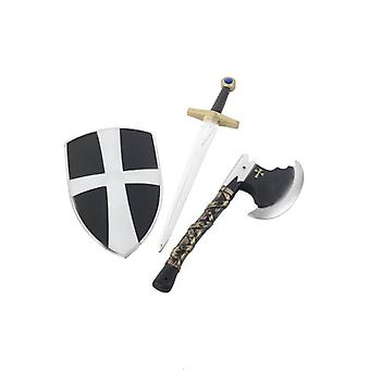 Smiffy 3 teiliges Crusader Set