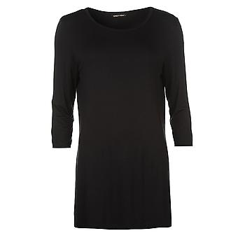 Only Womens Prime Three Quarter Top Blouse Long Sleeve Round Neck