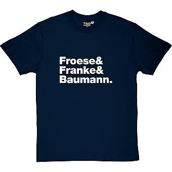 Tangerine Dream Line-up Herren T-Shirt