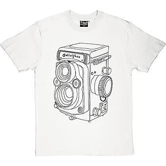 Vintage Rolleiflex Camera Men's T-Shirt