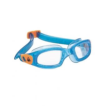 Aqua Sphere Kameleon Kids -3-6 years- Swim Google-Clear Lens - Blue/Orange
