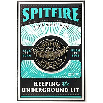 Spitfire Glow Flying Classic Badge