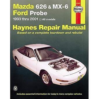 Manuel de réparation automobile Mazda 626: 1993-02 (manuels de réparation automobile Haynes)