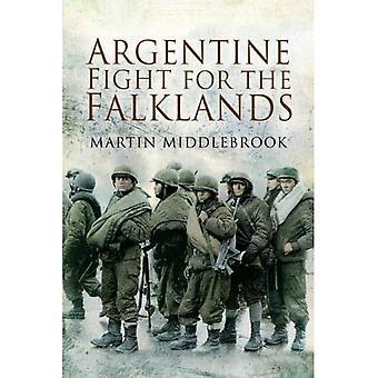 Argentin lutte pour la guerre des Malouines