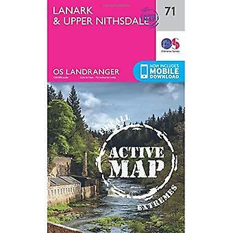 Lanark & Upper Nithsdale (OS Landranger Map)