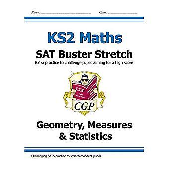 Nya KS2 matematik satt Buster Stretch: Geometri, åtgärder & statistik (för 2019 tester)