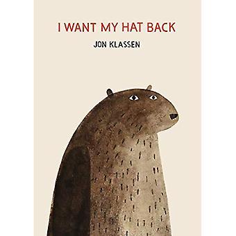 Eu quero o meu chapéu de volta [livro de placa]