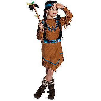 インドの子供たちの衣装の女の子野生の西からスコー