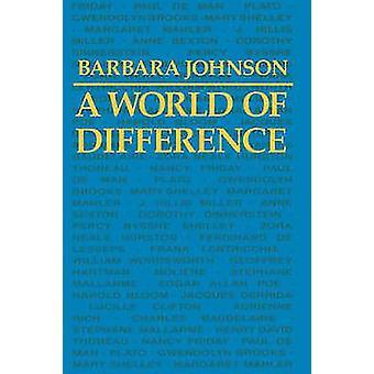 バーバラ ・ ジョンソンによる差の世界