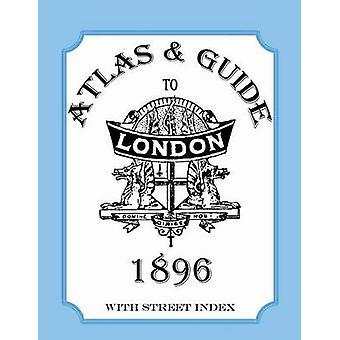 Guia de Atlas para Londres 1896 com rua índice por Collins & Audrey