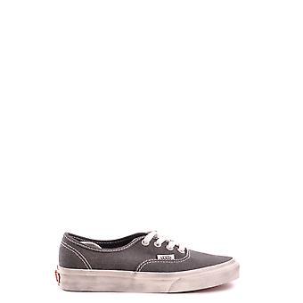 Zapatillas de Vans gris tela