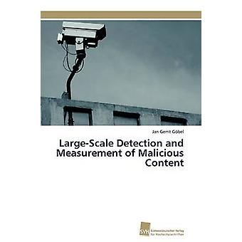 LargeScale Detection and Measurement of Malicious Content by Gbel Jan Gerrit