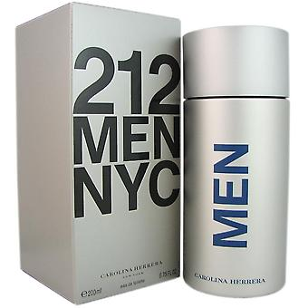 212 carolina herrera voor mannen 6.75 oz 200 ml eau de toilette spray