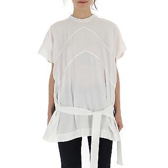 Givenchy hvid bomuld T-shirt