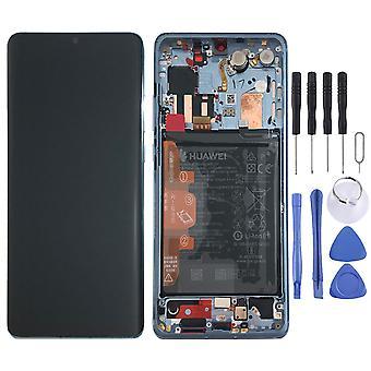 Huawei Display LCD Einheit + Rahmen für P30 Pro Service Pack 02352PGH Breathing Crystal Neu
