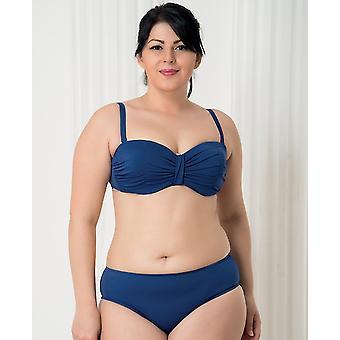 Aqua Perla - Womens -harmony-blue - Bikini Two Pieces- Plus Size