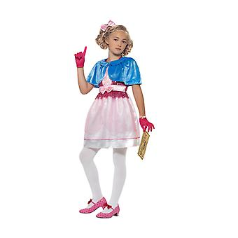 Roald Dahl Deluxe Veruca Salt Salt child costume dress girl