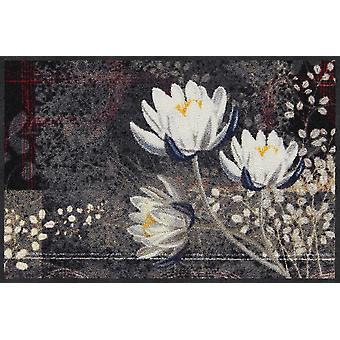 Salon lion doormat Lotus kimono 50 x 75 cm. washable dirt mat