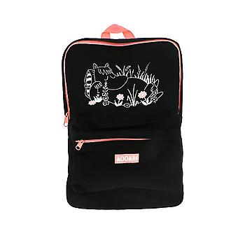 Moomin Black and Pink Backpack