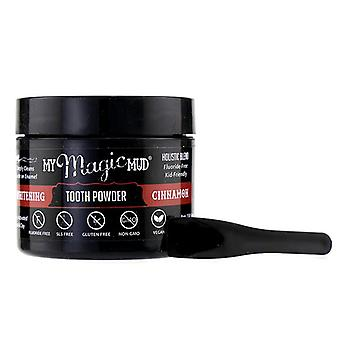 My Magic Mud Activated Charcoal Whitening Tooth Powder - Cinnamon - 30g/1.06oz