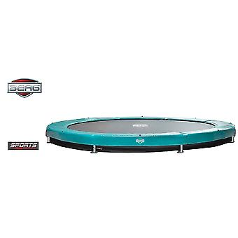 BERG InGround Elite 430 14ft Trampolin Sport Serie Green