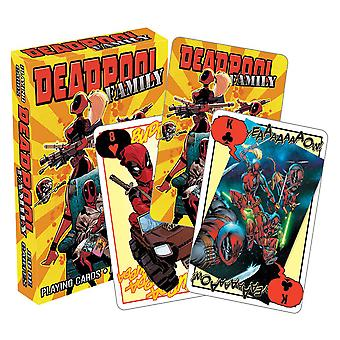 Marvel Deadpool Family Playing Cards