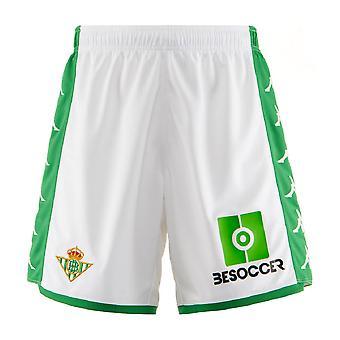 2019-2020 Real Betis Kappa Home Shorts (White)