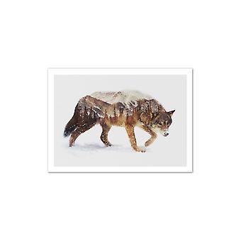 Konst-affisch-Wolf-Andreas lie 50 x 70 cm