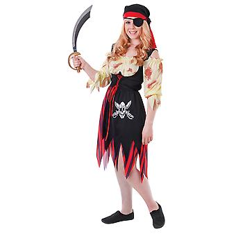 Bristol Novelty Teen Girls Pirate Costume