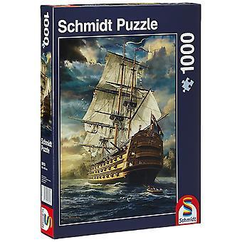 Schmidt segel Set pussel (1000 lappar)