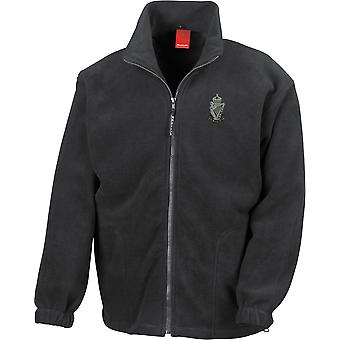 Royal Ulster Rifles RUR - Licensed British Army Embroidered Heavyweight Fleece Jacket