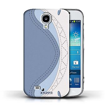STUFF4 Phone Case / Cover for Samsung Galaxy S4/SIV / Shark Design / Animal Stitch Effect Collection