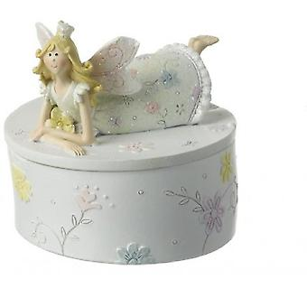 Gainsborough Giftware Glittered Fairy Princess Trinket Box