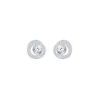 Swarovski Earrings Generation - blue - rhodio plating